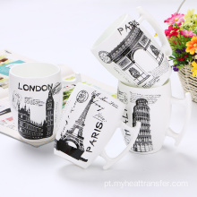 Creative City matte ceramic mug custom